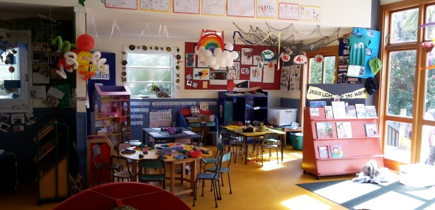 Inside the kindy